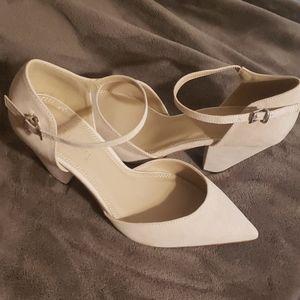 ASOS cream heels